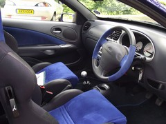 Seats and wheel lift FRP's interior