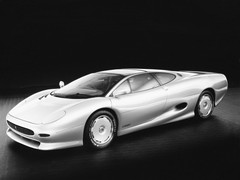 Sexy, swoopy and sensuous - the XJ220 concept
