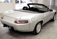 One-off 928 cabrio concept among the rarities