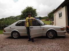 Dan with his treasured Carlsson
