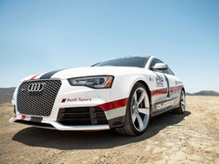 Official Audi involvement limited to liveried RS5