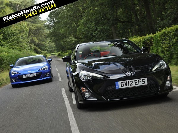 Subaru Brz Or Toyota Gt86 Pistonheads Has Got Them Head To Settle The Question Once And For All