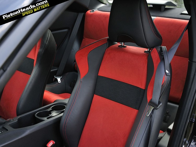 £1,600 seat upgrade adds ... colour to GT86