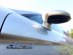Yep, it's a diesel...