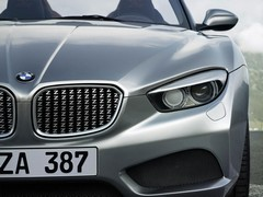 'Z' motif repeated throughout grille