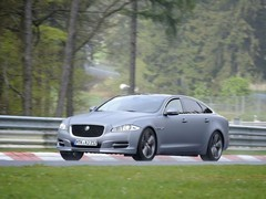 Jaguar XJ is the resident 'ring taxi
