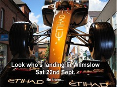 F1 display car made available for show
