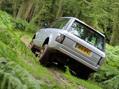 ...to a spot of mud plugging the Rangie rules