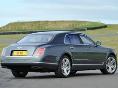 2.5 tonnes of Bentley, versus physics