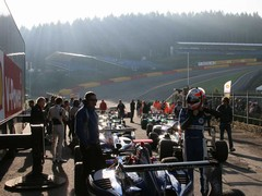 Early morning start at Spa very atmospheric