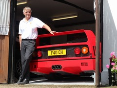 Nigel has something of a Ferrari habit...