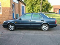 My first saloon car, by Lancia