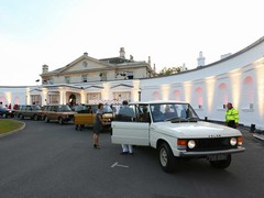 Old-school Range Rovers, new-school crowd