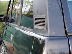 In classic car circles this is called 'patina'