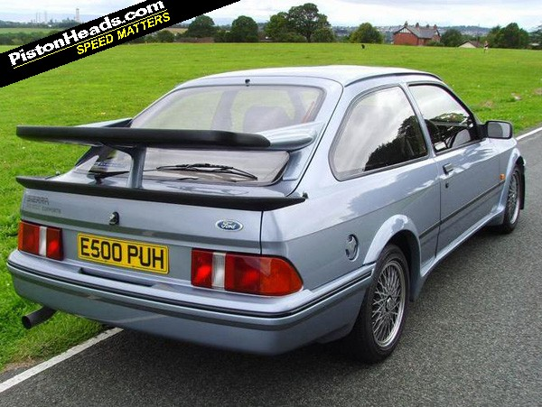spotted ford sierra rs500 cosworth pistonheads. Black Bedroom Furniture Sets. Home Design Ideas
