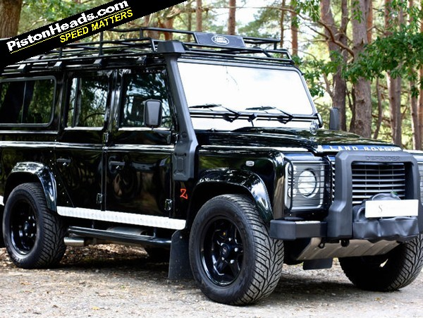 RE: You Know You Want To: £90K V8 Defender - Page 1 - General