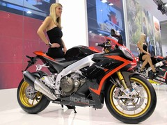 Aprilia's updated RSV4, and friend