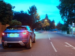 The Evoque gatecrashes the Olympic time trial...