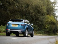 We like 'our' Evoque, and so do the girls