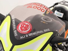 Life-saving role for his beloved bike