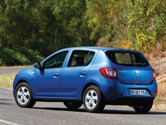 The most expensive Sandero is sub-�10K