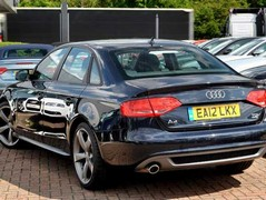 Or you could have a black diesel Audi...