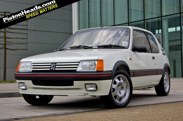 re ph carpool peugeot 205 gti 1 9 page 1 general gassing pistonheads. Black Bedroom Furniture Sets. Home Design Ideas