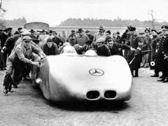 Mercedes', ah, state-sponsored effort in the 30s