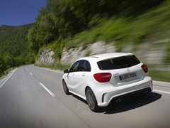 Aesthetically the A45 won't differ from A250 Sport
