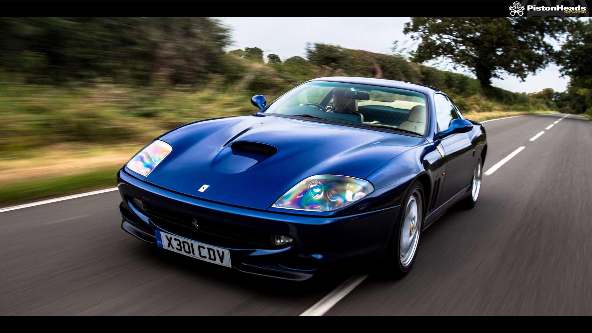Ferrari 575 blue viewing gallery
