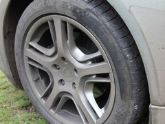 'Small' wheel option saved a chunk of alloy