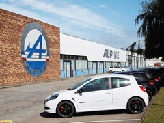 Alpine factory currently builds outgoing Clio 200