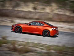 Copper-coloured car gets pick of TRD parts