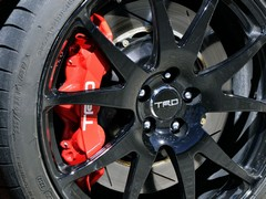 TRD-branded Brembos among upgrades