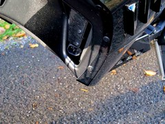 Charging point vulnerable to road grime