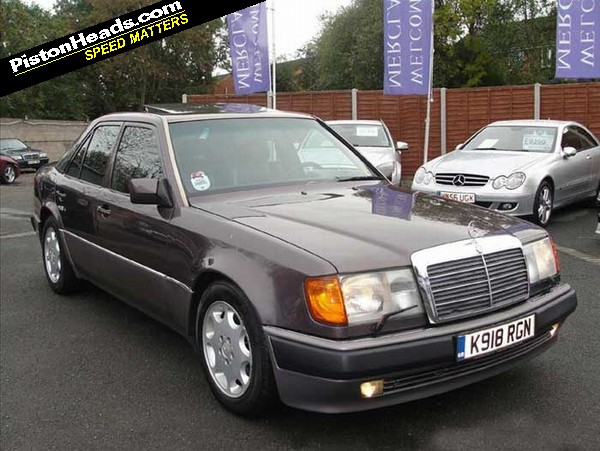 Spotted Mercedes 500e W124 Pistonheads