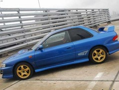 Imported two-door Impreza tempts...