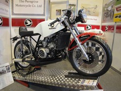 Spirit of 1970s in two-stroke Peregrine
