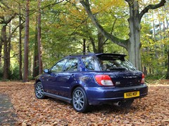 Tristan's Impreza as it was before...
