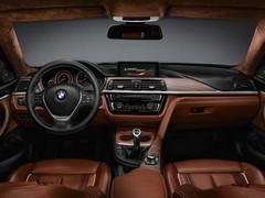 Interior based largely on 3 Series, as is...