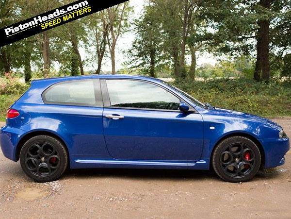re spotted alfa 147 gta page 1 general gassing pistonheads. Black Bedroom Furniture Sets. Home Design Ideas