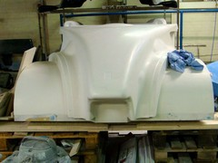 Bodywork taking shape at Radical's factory