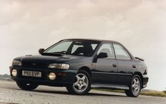 The Impreza became a legend in the '90s...