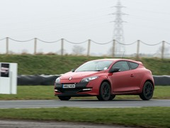 A greasy Blyton first track outing for Megane