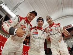 Loeb still taking centre stage (no pun intended)