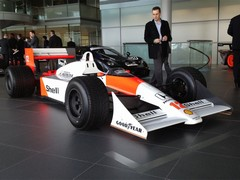Senna's MP4/4: for many, the greatest McLaren
