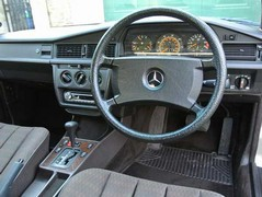 Auto - obviously - and trad 'taxi' Merc wheel