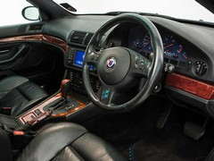 E39 interior in Alpina form is cossetting