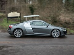 R8 is as docile as ever, when you want it to be