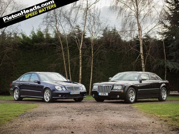 Blood Brothers: Mercedes E55 AMG vs Chrysler 300C | PistonHeads